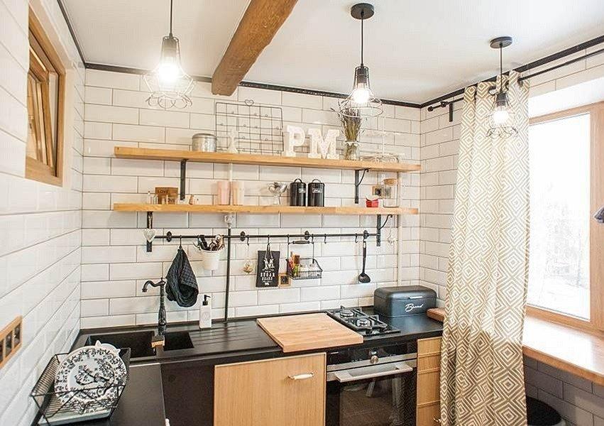 6 способов сэкономить на кухне в стиле лофт