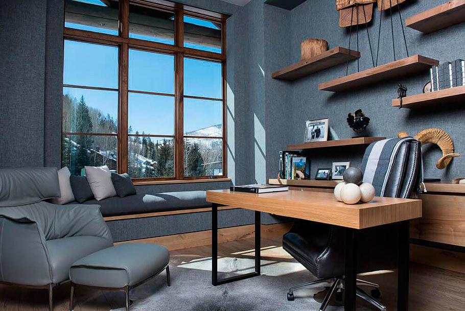 5 обязательных элементов для кабинета лофт