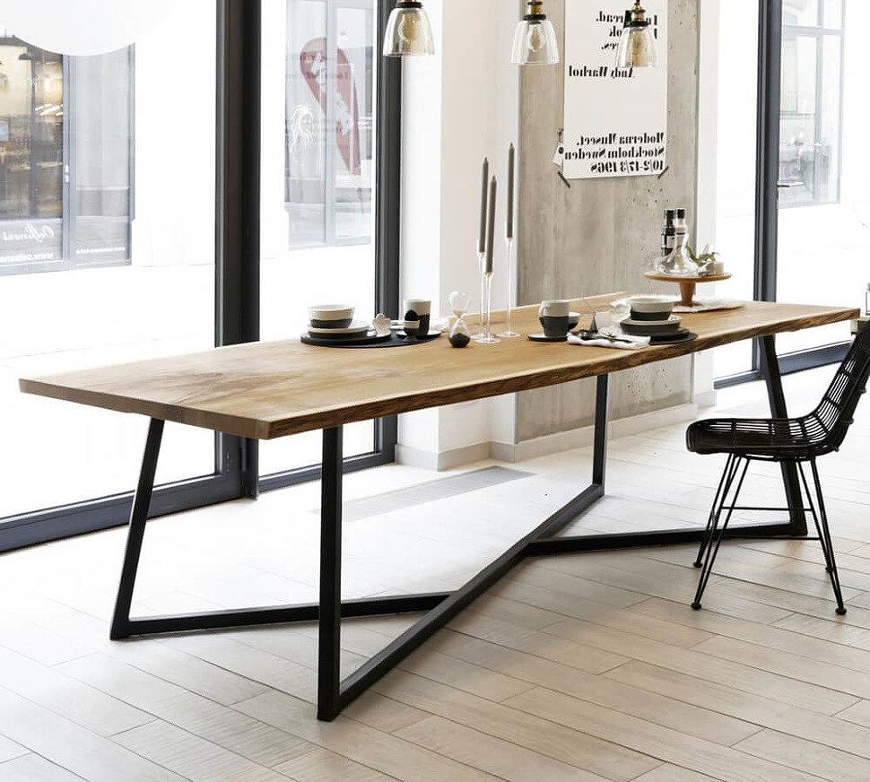 Выбираем стол в стиле лофт