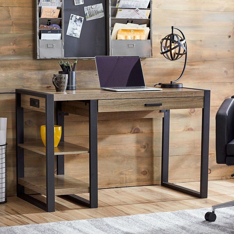 Если делать лофтовый письменный стол, то делать его хорошо!